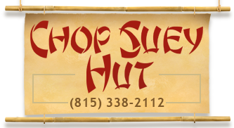 Logo for Chop Suey Hut in Woodstock, IL
